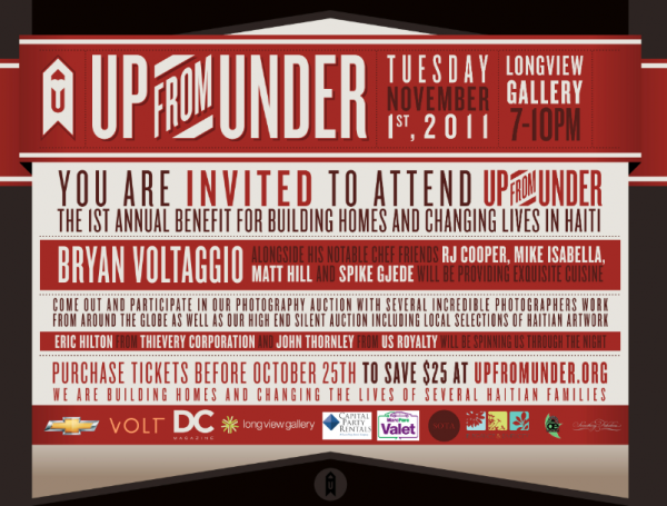 Up From Under INvitations