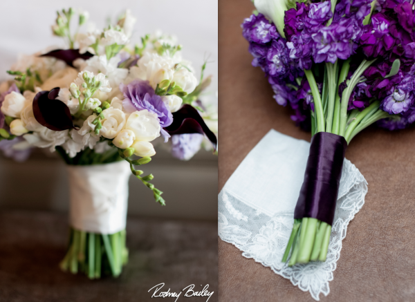 Carnegie Institute for Science bridal and bridesmaids bouquets