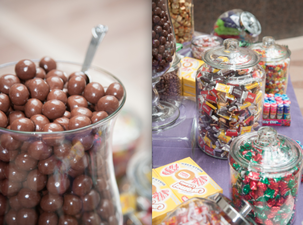 Candy bar with nostalgic candy at the Ronald Reagan Building