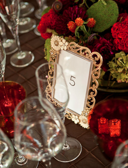 Table numbers by Elegance & Simplicity, Inc.