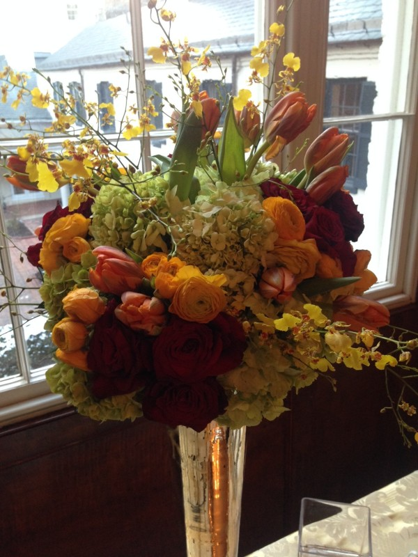 WHCA Floral designs at the Decatur House