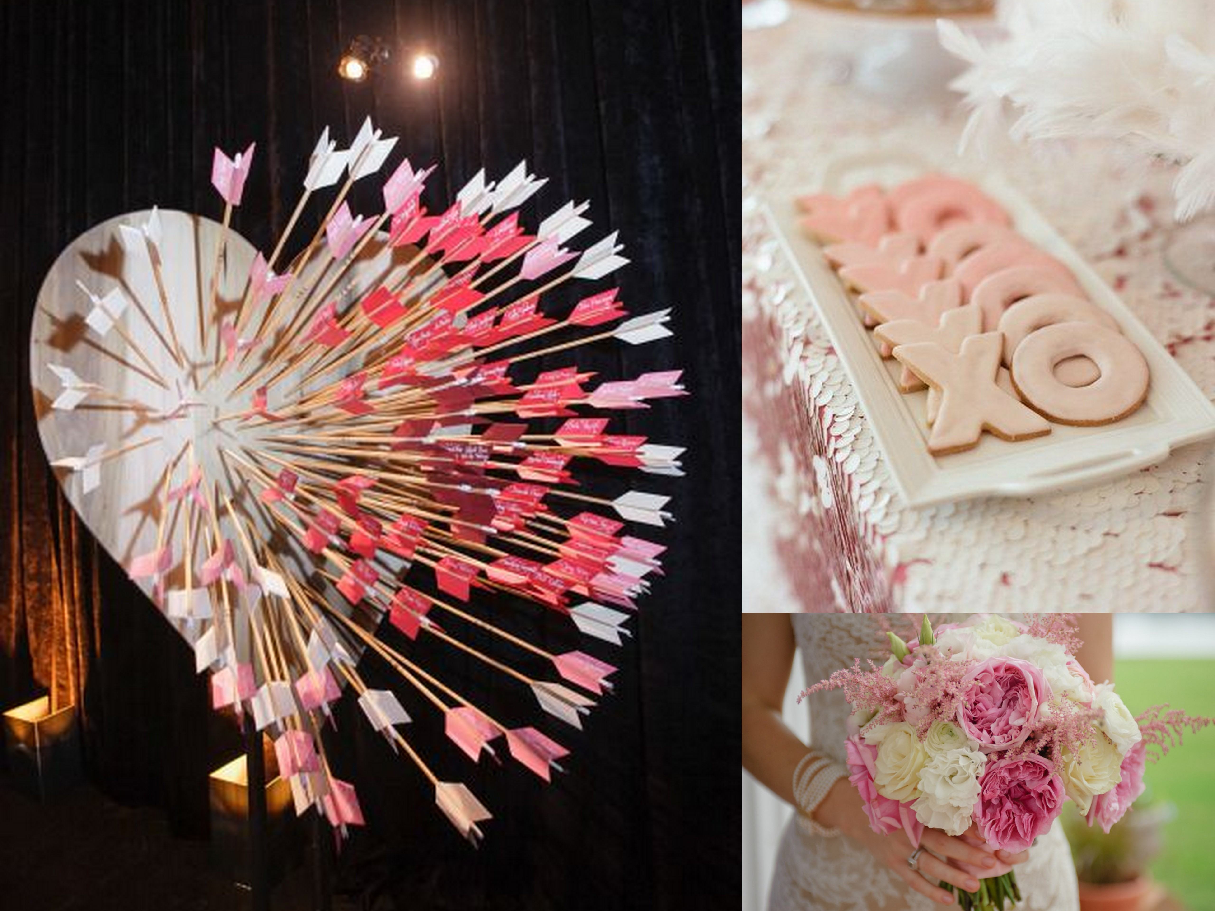 Elegance-and-Simplicity-Pink-Wedding-Valentines-Day