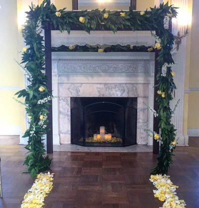 DC- Josephine-Butler-House-DC-Weddings-Wedding-Flowers-Ceremony-Structures-Chuppah-Mandap Indian-Weddings-Jewish-Weddings-Western-Weddings-Garlands