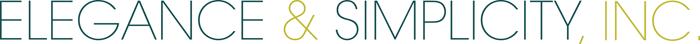 Elegance & Simplicity, Inc. – Wedding Planning, Flowers Logo